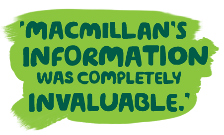 'Macmillan's information was completely invaluable.' - Amrik