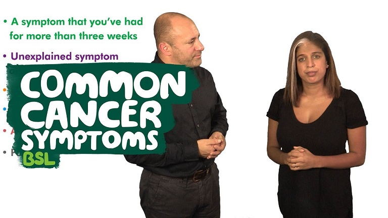 Common cancers and symptoms