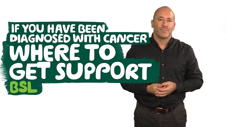 Where to get support if you have been diagnosed with cancer