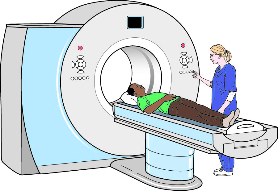 Having a CT scan
