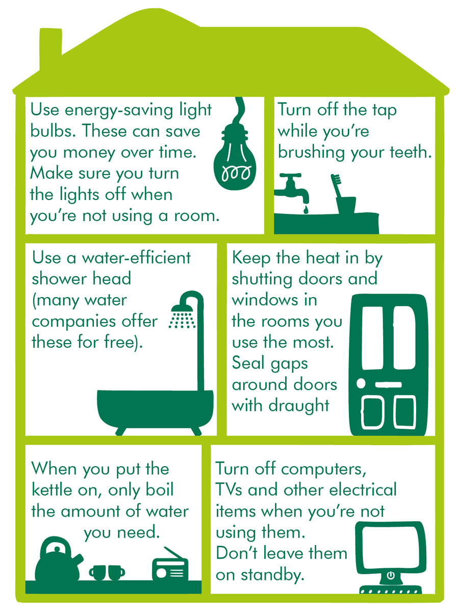 Ways to save energy in your home