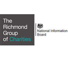 'The Richmond Group of Charities' written next to 'National Information Board'