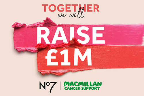 An image representing the Boots No7 and Macmillan Cancer Support partnership