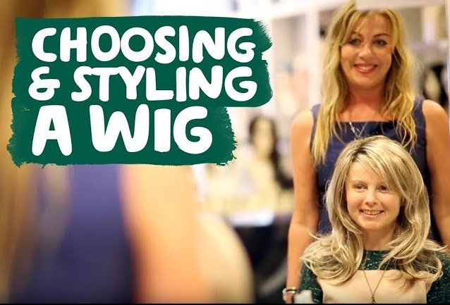 Choosing and styling a wig after hair loss
