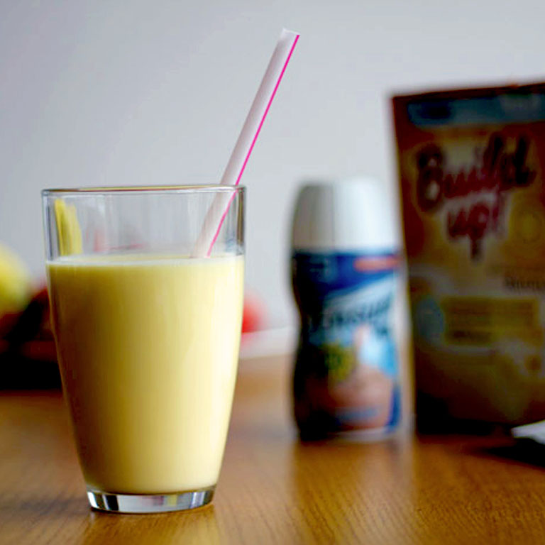 Bubbly Build-up® smoothy