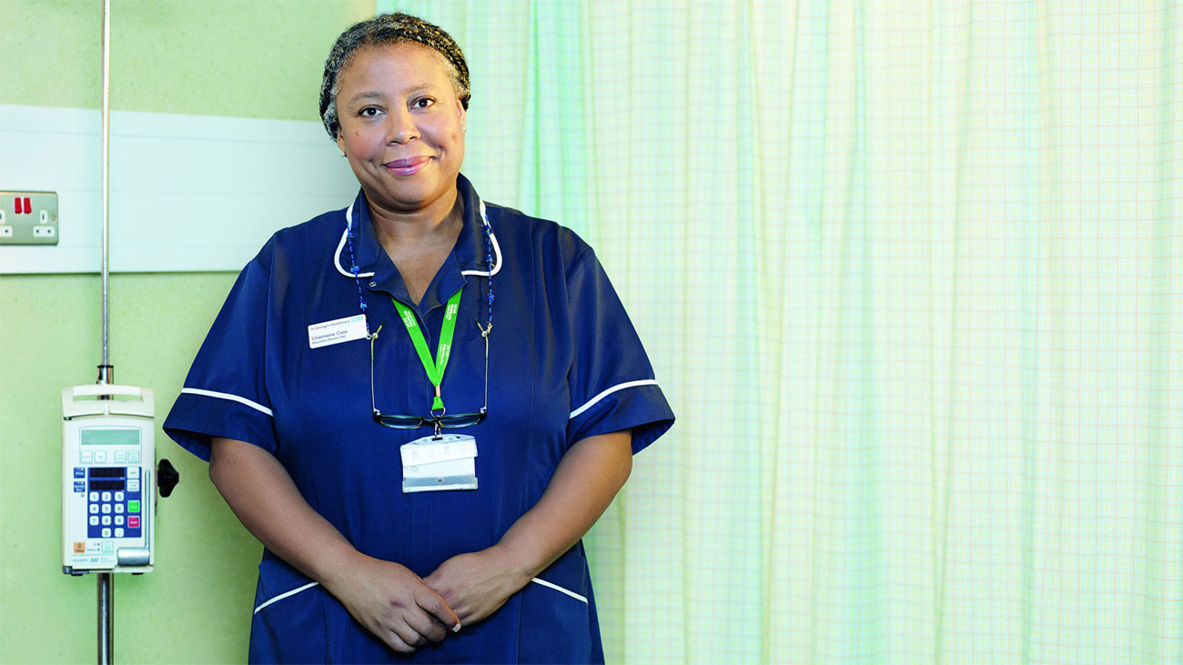 charmaine on being a macmillan nurse macmillan cancer support