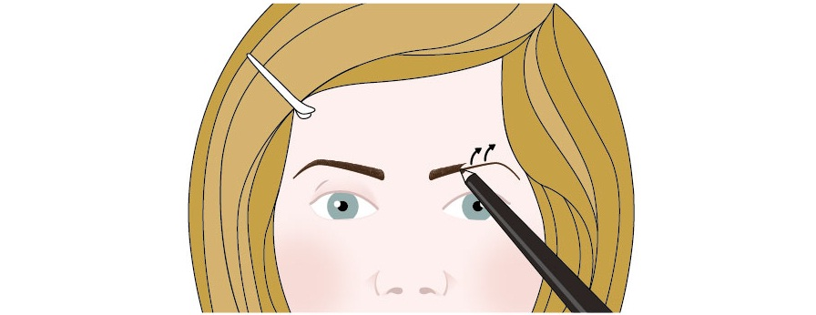 Creating eyebrows 3