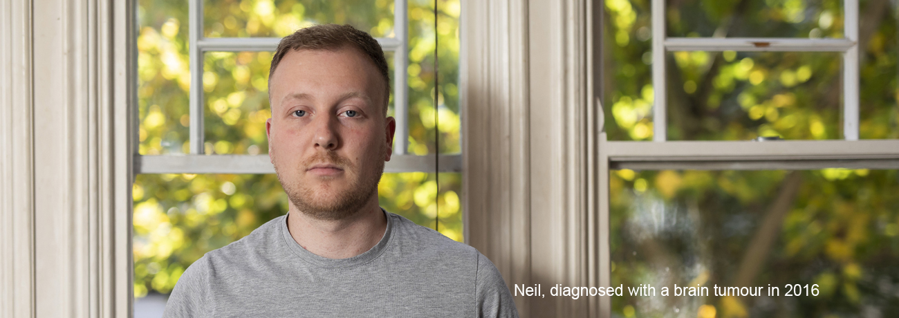 Neil, diagnosed with a brain tumour in 2016.
