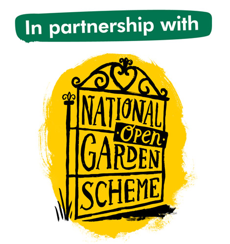 In partnership with National Garden Scheme.