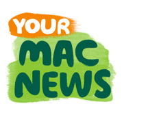 A logo that shows the words 'Your Mac News'