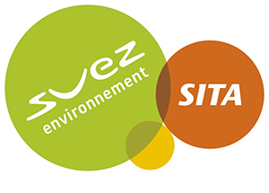 In a green circle the words 'Svez environment' appear on the right is an orange circle with 'sita' inside it.