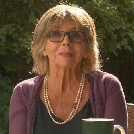 Sue Johnston tells Lynda's story – The stories behind Coffee Morning
