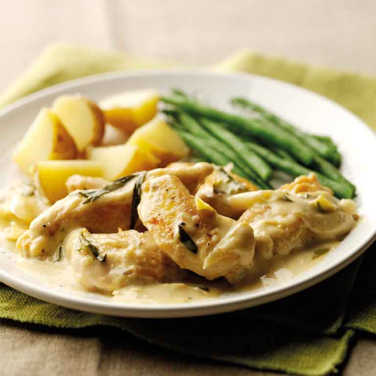 Tarragon and lime chicken
