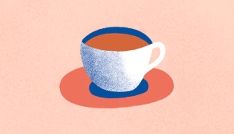 An illustration of a teacup.