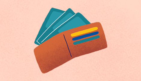 An illustration of a wallet.