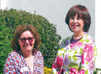 Macmillan counsellors Elaine Heywood and Jacqueline Ullman