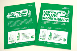 the Macmillan toilet cards and checklist