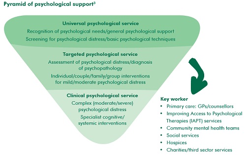 Pyramid of psychological support
