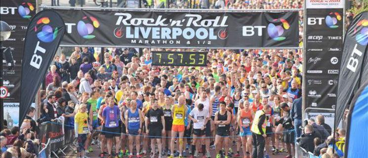 Rock 'n' Roll Liverpool Half Marathon