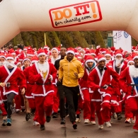 Do It For Charity Text Santa Run