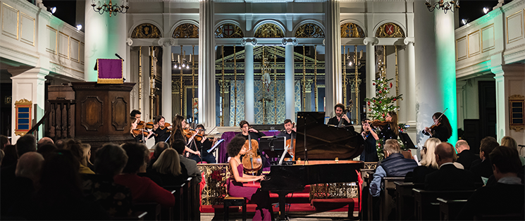 A Macmillan Christmas at St John's Smith Square, Westminster