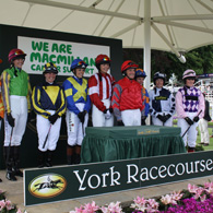 Macmillan Charity Raceday at York Racecourse