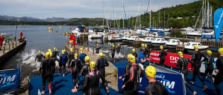 Great North Swim 2020    1 mile