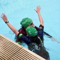 Macmillan Lido Challenge 2015 Cheltenham - 2km Relay