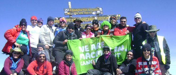 Climb Kilimanjaro for Cancer