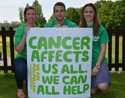 Norfolk and Suffolk Macmillan team