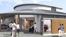 Artist's impression of Sussex Cancer Centre