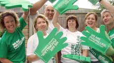 A group of Macmillan volunteers