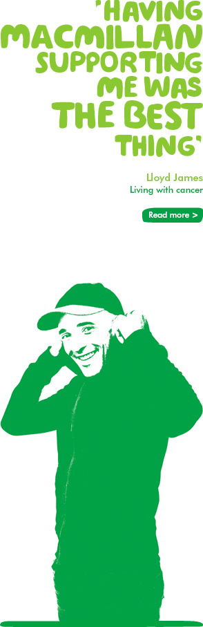 Find out how Macmillan made a difference for Lloyd
