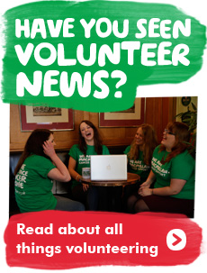 Read our volunteering news
