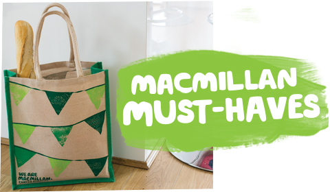 Our online shop now has a collection of Macmillan must-haves.