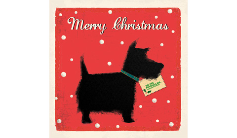 Scotty dog christmas cards