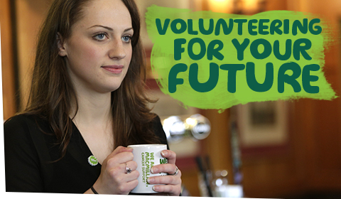 Volunteering for your future