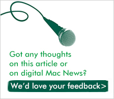 We'd love to hear what you think about digital Mac News.
