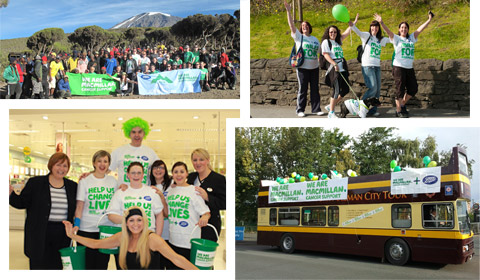 Boots staff at various fundraising events