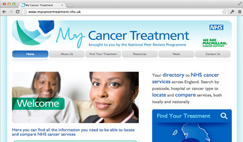 My Cancer Treatment website