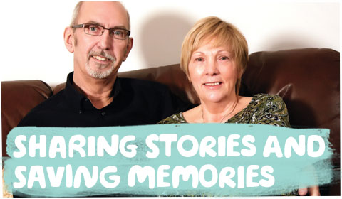 Sharing stories and saving memories