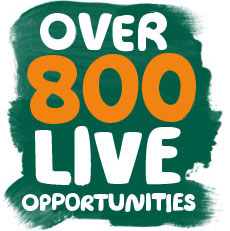 Find over 800 live opportunities